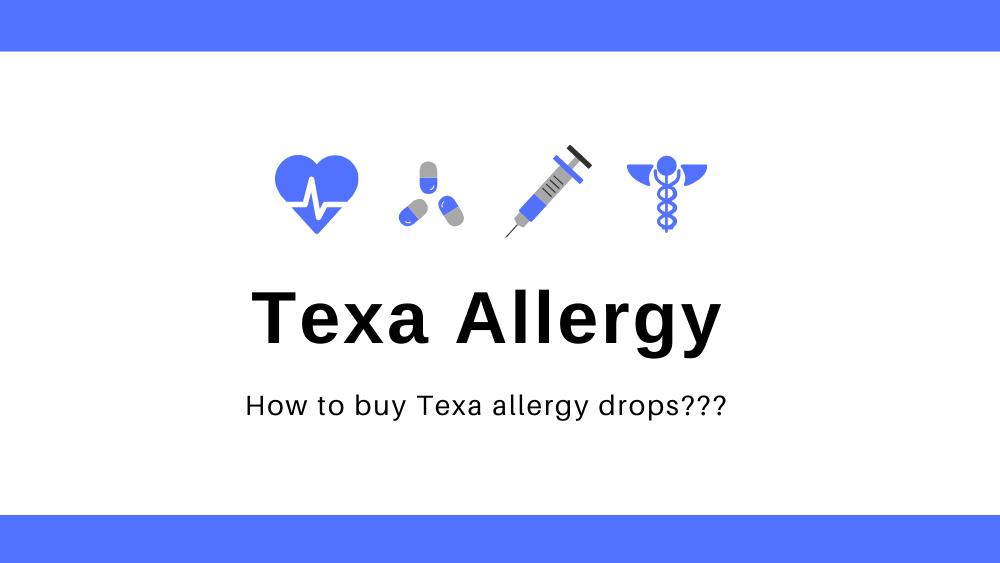 Where to buy texa allergy