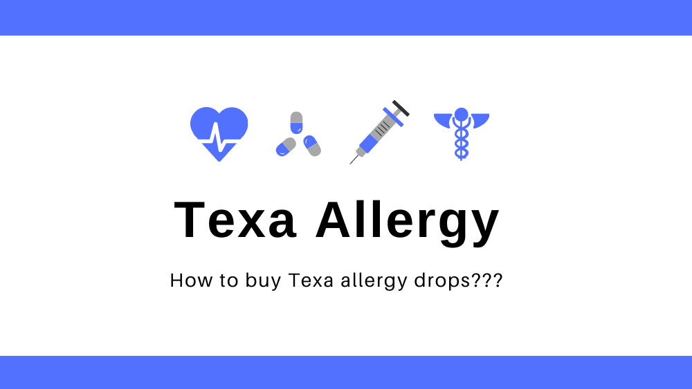 Where to buy texa allergy