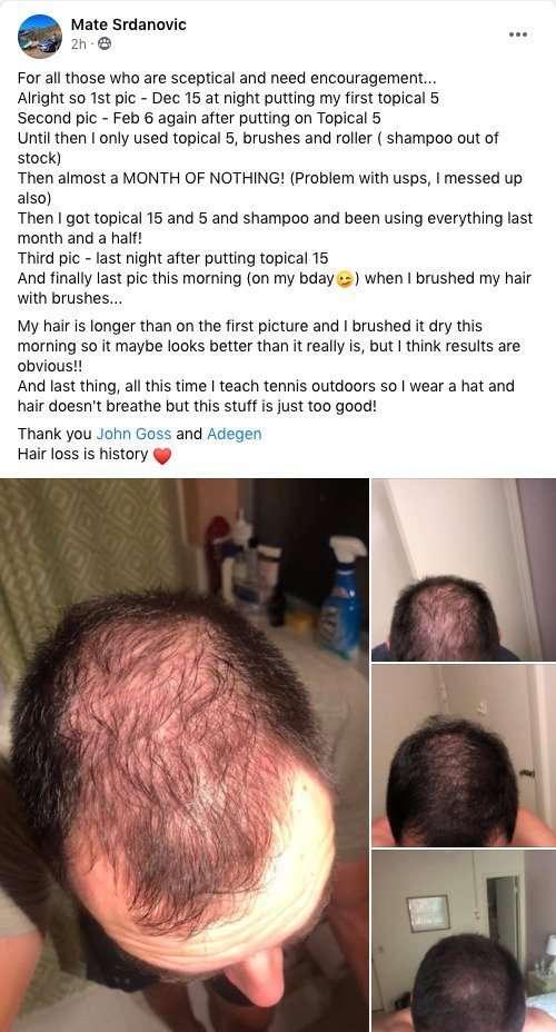 Adegen customer review