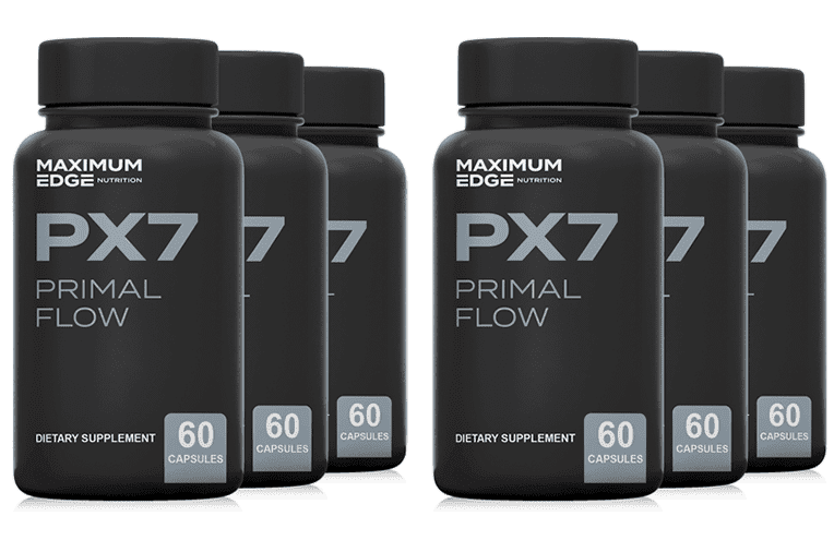 PX7 Primal Flow six bottles